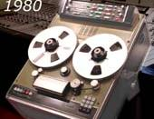 Solidyne GMS200 tape recorder with computer self-adjustment. Argentina 1980-1990