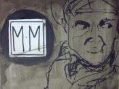 English: Portrait of Milo Minderbinder