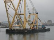 Building a cable-stayed bridge in Stralsund