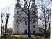 Divine Providence Catholic Church in Šenov, Czech Republic