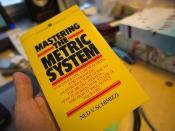 «Mastering the Metric System» av Ned V. Schimizzi