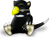 English: Tuz is the mascot of the 2009 linux.conf.au conference. It has been chosen as the logo of Linux kernel 2.6.29 to support the effort to save the Tasmanian devil species from extinction.