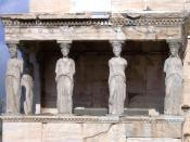 Image of Porch of the which is part of the at the in Athens, Greece.