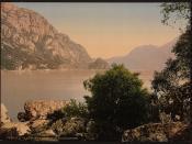 [Sandven Lake, Odde (i.e. Odda), Hardanger Fjord, Norway] (LOC)