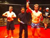 Jordan Rinaldi win vs Biff Walizer