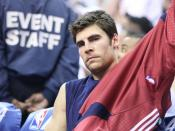 Wally Szczerbiak, American basketball player for the Cleveland Cavaliers (at time of photo)
