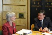 US China Bilateral at World Health Assembly 2