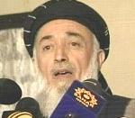 Burhanuddin Rabbani, former president and current head of the Jamiat-e Islami party.