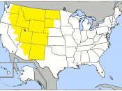 United States Environmental Protection Agency (US EPA) Special Geographic Phase-in Area (GPA) map