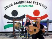 English: Arab American Festival - ARIZONA