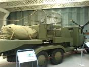English: Barrage Balloon Vehicle at Duxford Airforce Museum