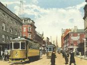 North Main Street, Fall River, MA, circa 1910