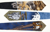 Three ties from World Wide Fund For Nature (WWF)