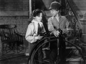 English: Freddie Bartholomew & Mickey Rooney in Little Lord Fauntleroy - cropped screenshot