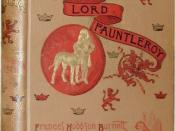 First edition hard cover of Little Lord Fauntleroy