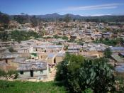 Residential area in Lubango