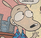 Rocko in the Rocko's Modern Life comic book series