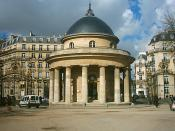 Parc Monceau, La Rotonde. Paris.