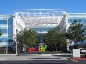 The satellite office campus of eBay in the North First Street neighborhood of San Jose, California. PayPal is based here, along with several other eBay divisions. Photographed on September 9, 2006 by user Coolcaesar.