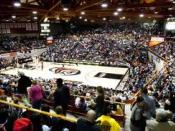 English: Packed Alex G. Spanos Center