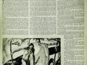 First page of the story with its original title in The Saturday Evening Post (1937)
