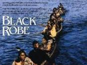 Film poster for Black Robe