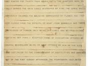 English: Telegram was sent by Major Robert Anderson at 10:30am, April 18, 1861, announcing the surrender of Forst Sumter to confederate General Beauregard. A transcription of the telegram can be found on Wikisource, at Fort Sumter telegram.