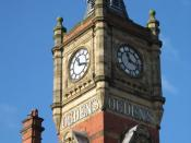 English: Clock Tower, Ogden's Tobacco Company