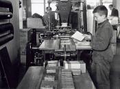 Jongen in de tabaksindustrie / Boy working in tobacco industry