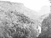 Deer Creek Canyon of the Yahi tribe