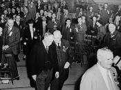 Honourable R. B. Bennett and Senator Arthur Meighen