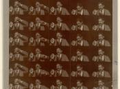 Morceau du film Edison Kinetoscopic Record of a Sneeze sur Kinétoscope