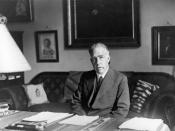 Picture of Niels Bohr (1935)