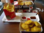 Chicken McNuggets and French Fries