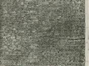 An inscription of the Code of Hammurabi.