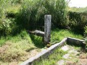 Pilón na parroquia de Oubiña, Cambados