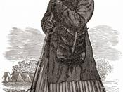 A woodcut image of Harriet Tubman