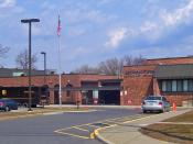 Mechanicstown Elementary School, one of the Middletown, NY, USA, schools
