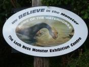 English: Loch Ness Monster