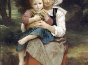 William-Adolphe Bouguereau, Breton Brother and Sister.