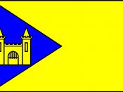 Flag of the former community of Montfort