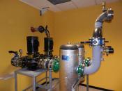 Main pumping station (stazione di pompaggio)