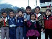 English: Aborigine children in Lona Village, Taiwan, ROC.