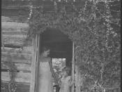 Pratt, Rosen, home with lady and young girl in doorway - NARA - 279954