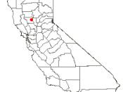 Adapted from Wikipedia's CA county maps by Bumm13.