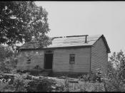 Wilson, Arthur, home on Mary C. Miller place - NARA - 280917