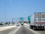 English: I-35N near exit 230 in Waco, TX