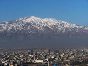 English: Snow Mountains of Kabul (Photo made by: Joe Burger) Русский: Снежные горы в Кабуле (фото сделано Джо Бургером)