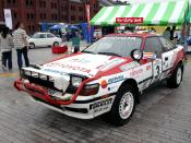 Toyota Celica ST165 Gr.A at The Spirit of Rally 2005.