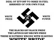 English: Ad for the American Nazi Party